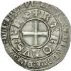 Photo numismatique  MONNAIES ROYALES FRANCAISES CHARLES V (8 avril 1364-16 septembre 1380)  Gros tournois.