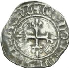 Photo numismatique  MONNAIES ROYALES FRANCAISES CHARLES VI (16 septembre 1380-21 octobre 1422)  Florette, Chinon.