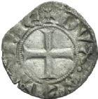 Photo numismatique  MONNAIES BARONNIALES Duché d'AQUITAINE EDOUARD III (1327-1362) Denier à l'étoile.