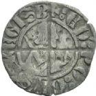 Photo numismatique  MONNAIES BARONNIALES Duché d'AQUITAINE EDOUARD III (1327-1362) Sterling, Bordeaux.