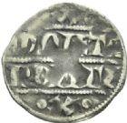 Photo numismatique  MONNAIES BARONNIALES Comté de PONTHIEU EDOUARD Ier (1279-1290) Denier.