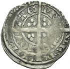 Photo numismatique  MONNAIES BARONNIALES Duché d'AQUITAINE EDOUARD, prince noir (1352-1372) Demi-gros, La Rochelle.