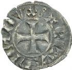 Photo numismatique  MONNAIES BARONNIALES Duché d'AQUITAINE EDOUARD III (1327-1362) Denier.