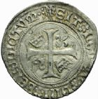 Photo numismatique  MONNAIES ROYALES FRANCAISES LOUIS XII (8 avril 1498-31 décembre 1514)  Grand blanc à la couronne ou douzain, Saint-Lô.