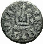 Photo numismatique  MONNAIES ROYALES FRANCAISES PHILIPPE VI DE VALOIS(1er avril 1328-22 août 1350)  Piéfort du denier tournois.