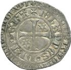 Photo numismatique  MONNAIES ROYALES FRANCAISES JEAN II LE BON (22 août 1350-18 avril 1364)  Gros à l'étoile.