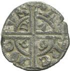 Photo numismatique  MONNAIES BARONNIALES Comté de SAVOIE AMEDEE V (1285-1323) Denier piccolo di Piemonte.