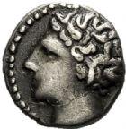 Photo numismatique  VENTE 6 oct 2017 - Coll Dr Y. Goalard et divers GRECE ANTIQUE GAULE DU SUD MARSEILLE (Bouches-du-Rhône) 24- Obole, (vers 300-250).