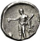 Photo numismatique  VENTE 6 oct 2017 - Coll Dr Y. Goalard et divers GRECE ANTIQUE Italie - Lucanie Héraclée (281-272) 41- Statère, (281-268).