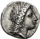 Photo numismatique  VENTE 6 oct 2017 - Coll Dr Y. Goalard et divers GRECE ANTIQUE Italie - Lucanie Métaponte (330-290) 48- Statère, (330-300).
