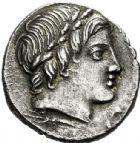 Photo numismatique  ARCHIVES VENTE 2017-6 oct - Coll Dr Y. Goalard RÉPUBLIQUE ROMAINE Anonyme (vers 86)  273- Denier, (vers 86).