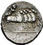 Photo numismatique  VENTE 6 oct 2017 - Coll Dr Y. Goalard et divers REPUBLIQUE ROMAINE Anonyme (vers 86)  273- Denier, (vers 86).