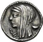 Photo numismatique  ARCHIVES VENTE 2017-6 oct - Coll Dr Y. Goalard RÉPUBLIQUE ROMAINE L. Cassius Longinus (vers 63)  274-  Denier.