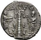 Photo numismatique  VENTE 6 oct 2017 - Coll Dr Y. Goalard et divers REPUBLIQUE ROMAINE C. Augurinus (vers 135)  278- Denier.