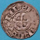 Photo numismatique  MONNAIES BARONNIALES Duché de BRETAGNE ANONYMES (1186-1250)  Denier de Nantes.