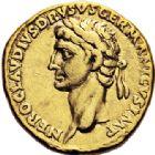 Photo numismatique  VENTE 6 oct 2017 - Coll Dr Y. Goalard et divers EMPIRE ROMAIN CLAUDE (41-54)  285- Aureus au nom de Néron Drusus, Lyon, (41-42).