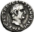 Photo numismatique  VENTE 6 oct 2017 - Coll Dr Y. Goalard et divers EMPIRE ROMAIN VESPASIEN (69-79)  291- Denier, Rome, (69/70).