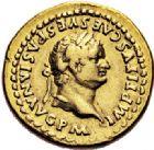 Photo numismatique  VENTE 6 oct 2017 - Coll Dr Y. Goalard et divers EMPIRE ROMAIN TITUS  César (69-79 Auguste (79-81)  293- Aureus, Rome, (80).