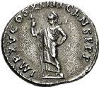 Photo numismatique  VENTE 6 oct 2017 - Coll Dr Y. Goalard et divers EMPIRE ROMAIN DOMITIEN César (69-81) Auguste (81-96)  295- Denier, Rome, (88).