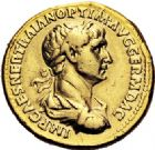 Photo numismatique  ARCHIVES VENTE 2017-6 oct - Coll Dr Y. Goalard EMPIRE ROMAIN TRAJAN (98-117)  297- Aureus, Rome, (116-117).