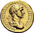 Photo numismatique  VENTE 6 oct 2017 - Coll Dr Y. Goalard et divers EMPIRE ROMAIN TRAJAN (98-117)  297- Aureus, Rome, (116-117).
