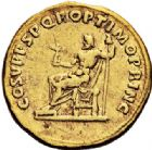 Photo numismatique  ARCHIVES VENTE 2017-6 oct - Coll Dr Y. Goalard EMPIRE ROMAIN TRAJAN (98-117)  297- Aureus, Rome, (108-111).