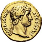 Photo numismatique  ARCHIVES VENTE 2017-6 oct - Coll Dr Y. Goalard EMPIRE ROMAIN HADRIEN (117-138)  298- Aureus, Rome, (125-128).
