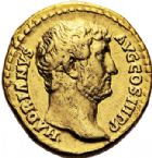 Photo numismatique  ARCHIVES VENTE 2017-6 oct - Coll Dr Y. Goalard EMPIRE ROMAIN HADRIEN (117-138)  299- Aureus, Rome, (134-138).