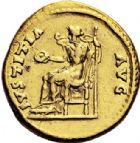 Photo numismatique  VENTE 6 oct 2017 - Coll Dr Y. Goalard et divers EMPIRE ROMAIN HADRIEN (117-138)  299- Aureus, Rome, (134-138).