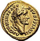 Photo numismatique  VENTE 6 oct 2017 - Coll Dr Y. Goalard et divers EMPIRE ROMAIN ANTONIN LE PIEUX (César 138 - Auguste 138-161)  301- Aureus, Rome, (155-156).