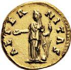 Photo numismatique  VENTE 6 oct 2017 - Coll Dr Y. Goalard et divers EMPIRE ROMAIN FAUSTINE mère (épouse d'Antonin +141)  303- Aureus, Rome, (après 141).