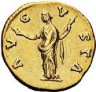 Photo numismatique  VENTE 6 oct 2017 - Coll Dr Y. Goalard et divers EMPIRE ROMAIN FAUSTINE mère (épouse d'Antonin +141)  304- Aureus, Rome, (après 141).