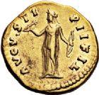 Photo numismatique  VENTE 6 oct 2017 - Coll Dr Y. Goalard et divers EMPIRE ROMAIN FAUSTINE jeune (épouse de Marc Aurèle)  306- Aureus, Rome, (sous Antonin).