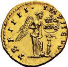 Photo numismatique  VENTE 6 oct 2017 - Coll Dr Y. Goalard et divers EMPIRE ROMAIN LUCIUS VERUS (161-169)  307- Aureus, Rome, (décembre 163 - décembre 164).
