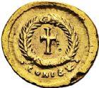 Photo numismatique  VENTE 6 oct 2017 - Coll Dr Y. Goalard et divers EMPIRE ROMAIN EUDOCIE (épouse de Théodose II +460)  316- Tremissis, Constantinople, (425/429).
