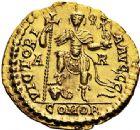 Photo numismatique  VENTE 6 oct 2017 - Coll Dr Y. Goalard et divers EMPIRE ROMAIN MAJORIEN (457-461)  317- Solidus, Arles, (458-461).