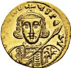 Photo numismatique  ARCHIVES VENTE 2017-6 oct - Coll Dr Y. Goalard EMPIRE BYZANTIN TIBÈRE III APSIMAR (698-705)  319- Solidus, Constantinople.