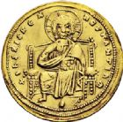 Photo numismatique  ARCHIVES VENTE 2017-6 oct - Coll Dr Y. Goalard EMPIRE BYZANTIN ROMAIN III ARGYRE (1028-1034)  322- Nomisma histaménon, Constantinople.