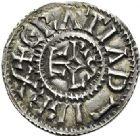 Photo numismatique  ARCHIVES VENTE 2017-6 oct - Coll Dr Y. Goalard CAROLINGIENS CHARLES LE CHAUVE, roi (840-875)  342- Denier, Rennes, après 864.