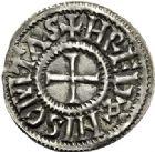 Photo numismatique  VENTE 6 oct 2017 - Coll Dr Y. Goalard et divers CAROLINGIENS CHARLES LE CHAUVE, roi (840-875)  342- Denier, Rennes, après 864.
