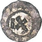 Photo numismatique  ARCHIVES VENTE 2017-6 oct - Coll Dr Y. Goalard CAROLINGIENS LOUIS IV D'OUTREMER (936-954)  343- Obole, Langres.