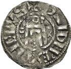 Photo numismatique  ARCHIVES VENTE 2017-6 oct - Coll Dr Y. Goalard ROYALES FRANCAISES PHILIPPE Ier (4 août 1060-29 juillet 1108)  345- Denier du 2ème type, frappé à Orléans.