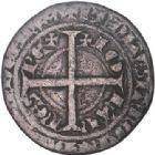 Photo numismatique  VENTE 6 oct 2017 - Coll Dr Y. Goalard et divers ROYALES FRANCAISES JEAN II LE BON (22 août 1350-18 avril 1364)  347- Piéfort du blanc à l'épi, ?1ère émission (22 janvier 1352).