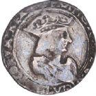 Photo numismatique  ARCHIVES VENTE 2017-6 oct - Coll Dr Y. Goalard ROYALES FRANCAISES FRANCOIS I (1er janvier 1515–31 mars 1547)  348- Teston du 10e type, Tarascon (1537-1538), (point 17e).