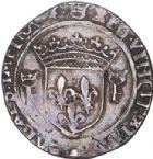 Photo numismatique  VENTE 6 oct 2017 - Coll Dr Y. Goalard et divers ROYALES FRANCAISES FRANCOIS I (1er janvier 1515–31 mars 1547)  348- Teston du 10e type, Tarascon (1537-1538), (point 17e).
