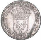 Photo numismatique  ARCHIVES VENTE 2017-6 oct - Coll Dr Y. Goalard ROYALES FRANCAISES LOUIS XIV (14 mai 1643-1er septembre 1715)  355- 1/2 écu à la mèche longue, Bourges, 1648 Y.