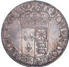 Photo numismatique  ARCHIVES VENTE 2017-6 oct - Coll Dr Y. Goalard ROYALES FRANCAISES LOUIS XIV (14 mai 1643-1er septembre 1715)  356- Écu de Béarn à la mèche longue, Pau, 1650 DB.