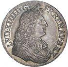 Photo numismatique  VENTE 6 oct 2017 - Coll Dr Y. Goalard et divers ROYALES FRANCAISES LOUIS XIV (14 mai 1643-1er septembre 1715)  358- 1/2 à la cravate, 1er type, Lyon, 1679 D.