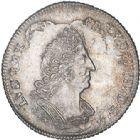 Photo numismatique  VENTE 6 oct 2017 - Coll Dr Y. Goalard et divers ROYALES FRANCAISES LOUIS XIV (14 mai 1643-1er septembre 1715)  360- 1/8ème d'écu de Flandre aux palmes, Lille, 1694 W.