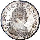 Photo numismatique  ARCHIVES VENTE 2017-6 oct - Coll Dr Y. Goalard ROYALES FRANCAISES LOUIS XV (1er septembre 1715-10 mai 1774)  365- Écu aux 8 L, La Rochelle, 1725 H.